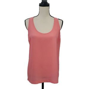 Old Navy Coral Solid Shell Tank Top, Size M